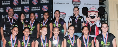 2013 Volleyball National Championship Girls' Awards 10U-18U