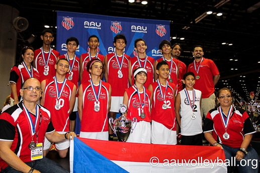 2013 Volleyball National Championship Boys' Award 14U-18U