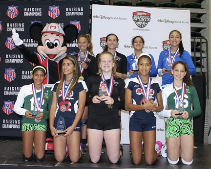 2013 Volleyball National Championship All-Americans