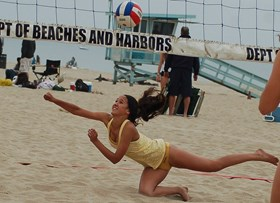 Beach VB Camp Offers Expert Advice