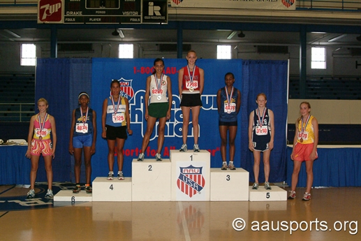 2004 AAU Junior Olympic Games - Track & Field 2