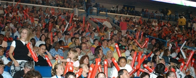 2005 Junior Olympic Games - Celebration of Athletes