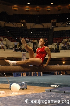 2005 Junior Olympic Games -Gymnasics