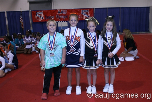 2008 Junior Olympic Games - Cheerleading