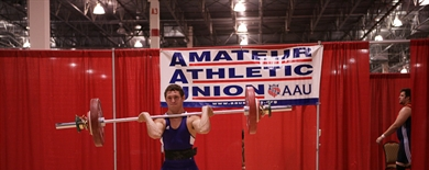 2008 AAU Junior Olympic Games - Weight Lifting