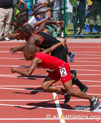 Sprint to Texas for Pearland Track Xpress' Meet
