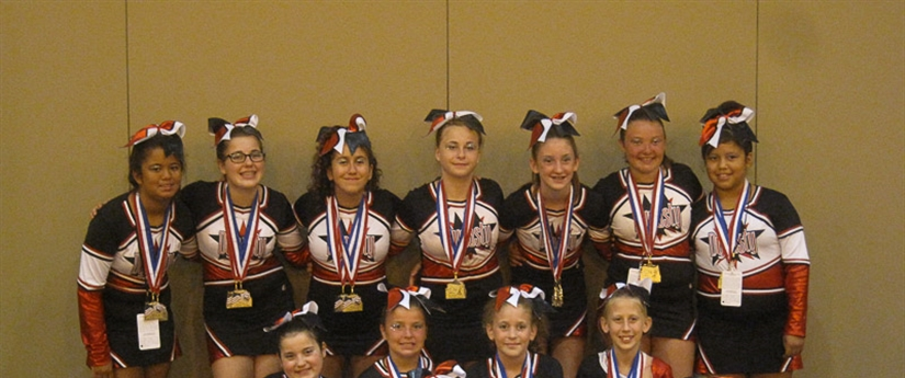 20011 AAU Junior Olympic Games - Cheerleading