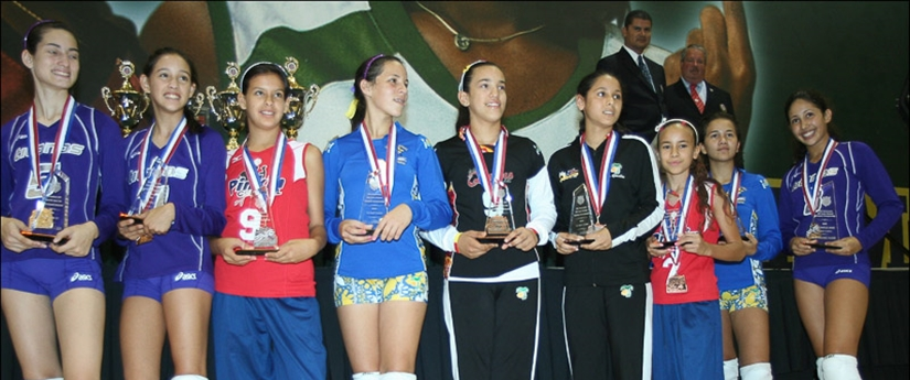 2008 Volleyball - Girls Jr National Championship Awards