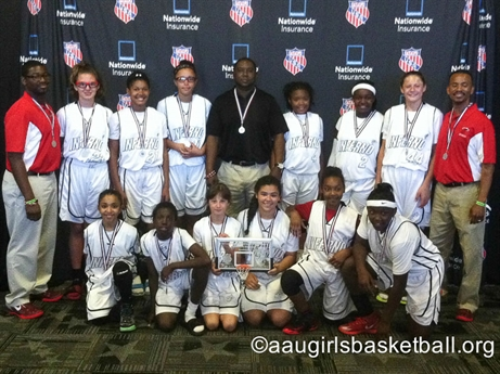 2014 AAU Girls' Basketball Spring Fling I - Awards