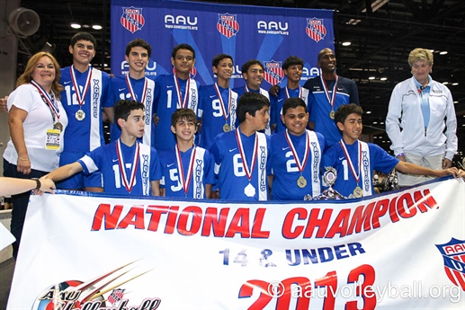 2013 Volleyball - Boys Jr National Championships - 10U -18U