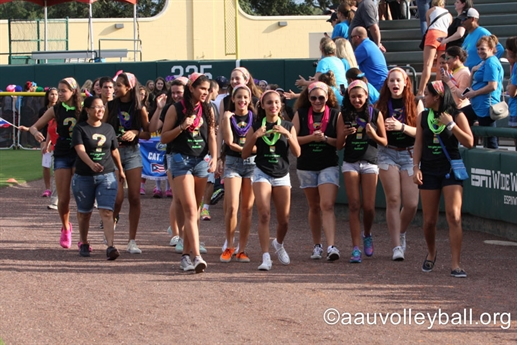 2014 AAU Girls' Junior National Volleyball Championships - Opening Ceremonies