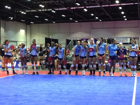 Volleyball Nationals Player Blog - Day Two at Nationals