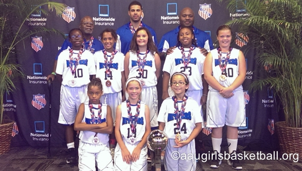 2014 AAU BASKETBALL 3RD & 4TH GRADE NATIONAL CHAMPIONSHIPS - Awards