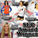 AAU Volleyball Alumna Earn SEC Awards