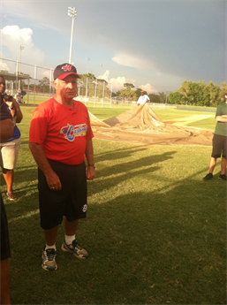 LONGTIME AAU BASEBALL COACH INDUCTED INTO HALL OF FAME