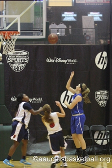 2015 AAU Girls' Basketball 9th-12th Grade National Championships - Action