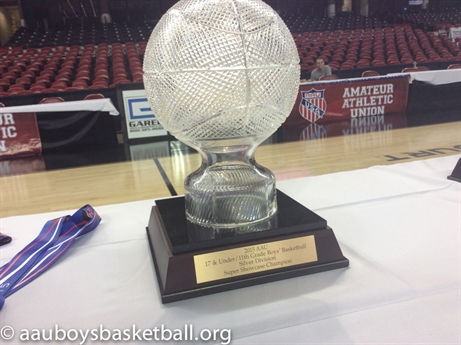 2015 AAU Boys' Basketball 16U/10th Grade and 17U/11th Grade National Championships and Super Showcases - Awards