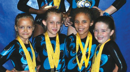 Young Gymnast with Freiberg's Disease Competes for the Last Time