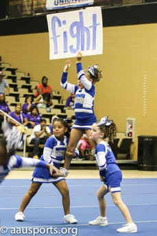 Recreational Cheer Competition at the  2013 AAU Football League Based Nationals