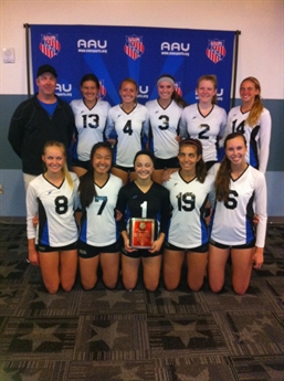 2013 15U-18U Volleyball National Championship Awards