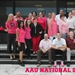 "AAU National Office ""Goes Pink"" For Breast Cancer"