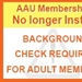 BE PREPARED: Continued Background Screenings for AAU Adult Members
