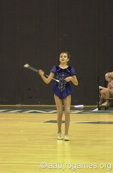 2005 Junior Olympic Games - Baton Twirling