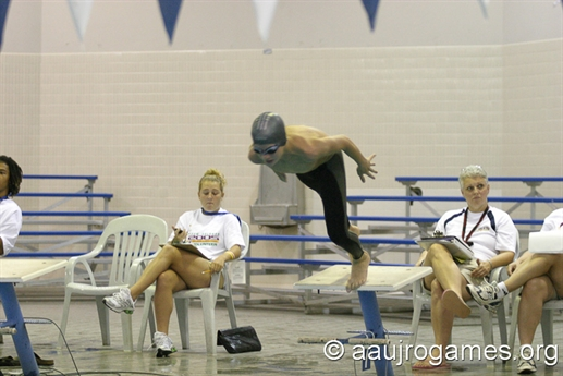 2005 Junior Olympic Games - Swimming