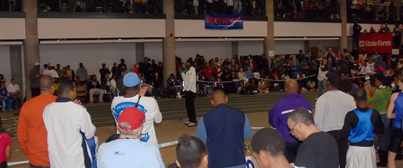 2011 Athletics - Bob Beamon at North Indoor Championship