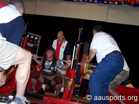 2007 Power Lifting - AAU Junior Olympic Games