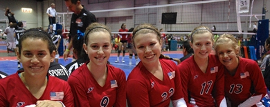2013 Volleyball - Girls Jr National Championships - OCCC