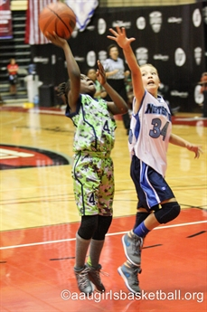 2014 AAU Basketball 3rd & 4th Grade National Championships - Action