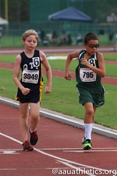 2014 AAU Track and Field Club Championships - Action