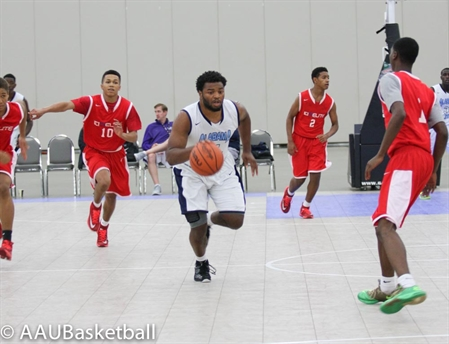 2014 AAU Boys' Basketball 11th Grade Nationals and Super Showcase- Around the Courts