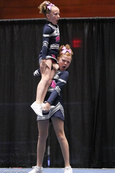 2014 AAU Junior Olympic Games Cheerleading RECAP