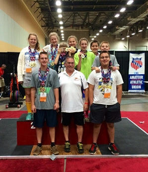 Shreveport Team Excels in Strength Sports at AAU Junior Olympic Games