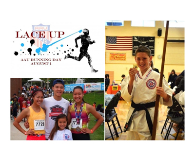 2014 AAU Running Day Winners' Insider