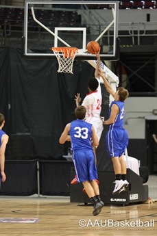 2014 AAU Boys' Basketball National Championships- 10th grade Semi-final and Final- ACTION