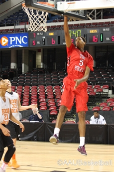 2014 AAU Boys' Basketball National Championships- 11th grade Semi-final and Final- ACTION