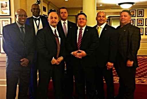 AAU Meets with Albany County Officials at AAU Sullivan Award