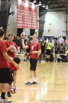 2015 AAU Boys' Junior National Volleyball Championships - Action