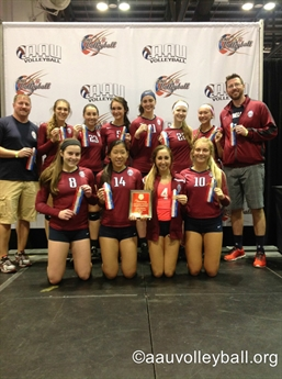 2015 AAU Girls' Junior National Volleyball Championships - Awards