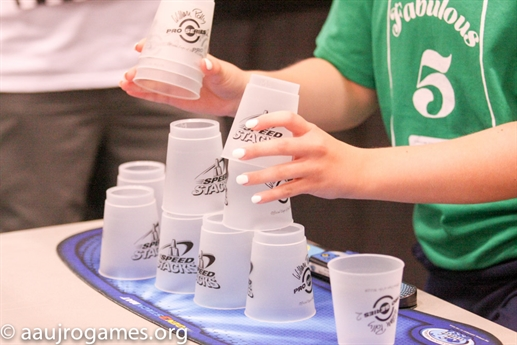 2015 AAU Junior Olympic Games - Sport Stacking