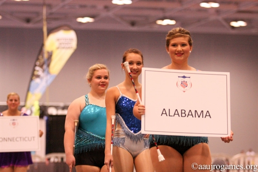 2015 AAU Junior Olympic Games - Baton