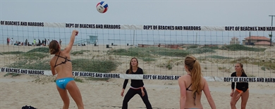 2013 Girls Beach Volleyball - Interscholastic Beach Volleyball League Spring