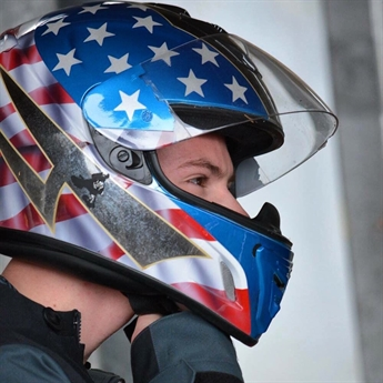 America's Bayou Bobsledder Tackles the Ice
