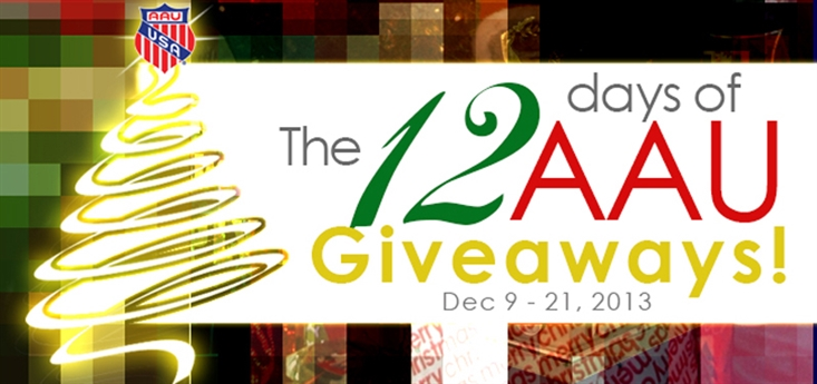 12 DAYS OF AAU GIVEAWAYS