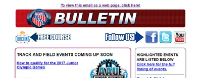 AAU Event Bulletin & News - Volume # 7 - Issue 35