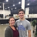Wrestler Carries Extra Weight at AAU Junior Olympic Games