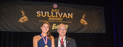 LAUREN CARLINI CROWNED 87TH AAU JAMES E. SULLIVAN AWARD WINNER